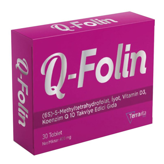 Picture of Q-Folin 30 Tablet
